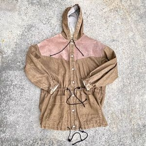 Corniche vintage brown denim jacket